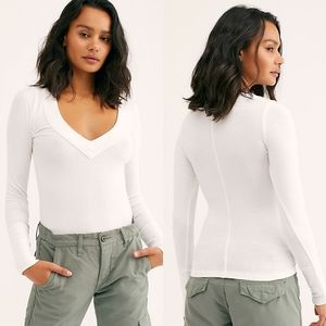 NWT Free People The Layering Top